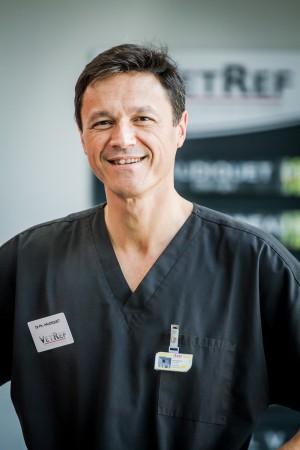 Dr Ph.HAUDIQUET, Chef du Service de Chirurgie